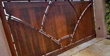 Portail métal design