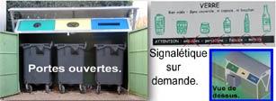 Abri conteneurs : TAMROCH bennes et conteneurs