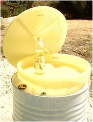 Conteneur huiles végétales : TAMROCH bennes et conteneurs